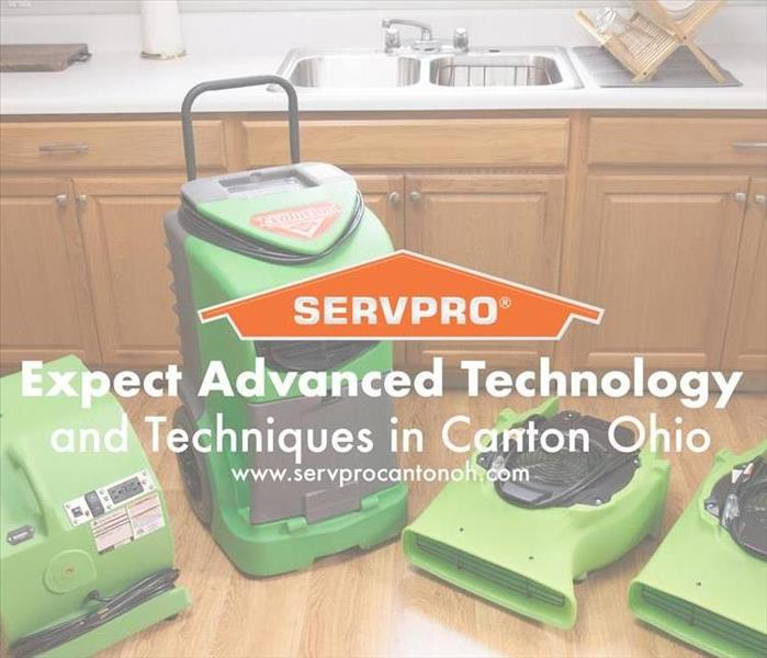 Why SERVPRO Expect Advanced Technology and Techniques in Canton, Ohio
