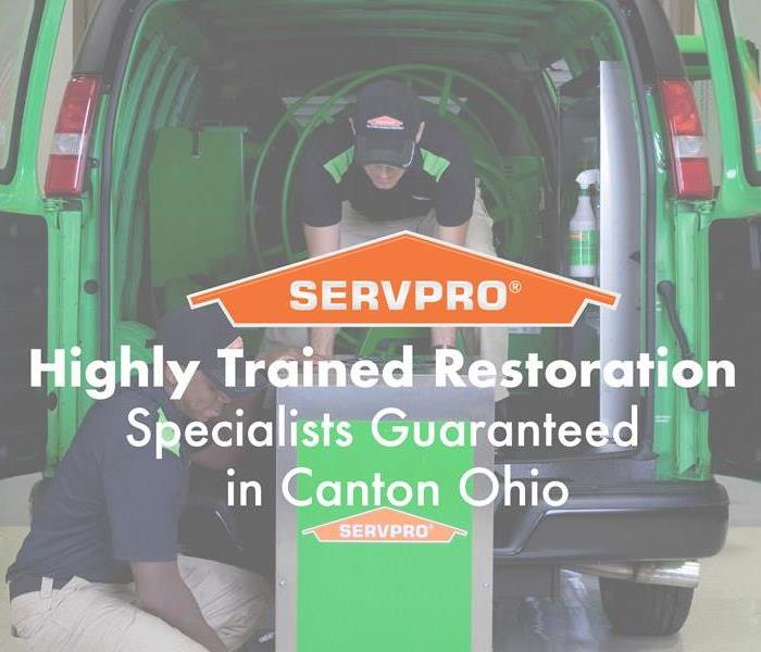 Why SERVPRO Highly Trained Restoration Specialists Guaranteed in Canton Ohio