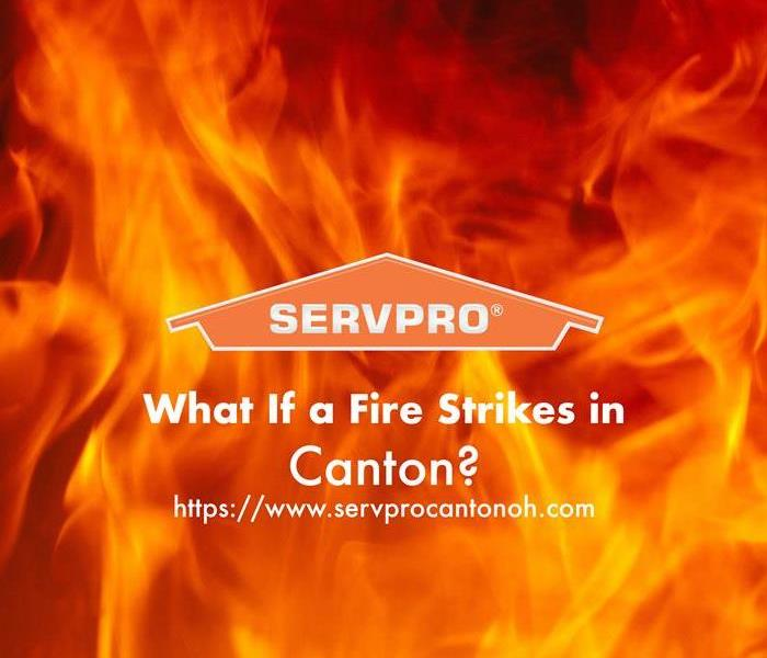 Orange SERVPRO house logo with on a backdrop of bright orange and dark orange fire flames